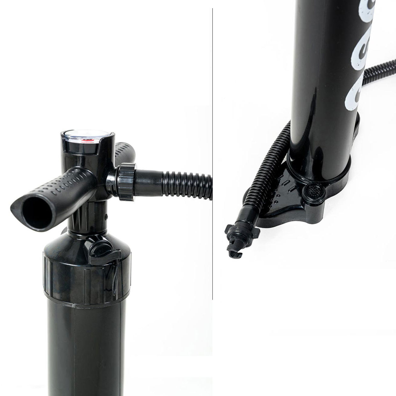 Pump included in the inflatable SUP package