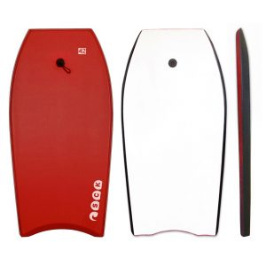 Bodyboard 42inch Κόκκινο με leash καρπού SCK