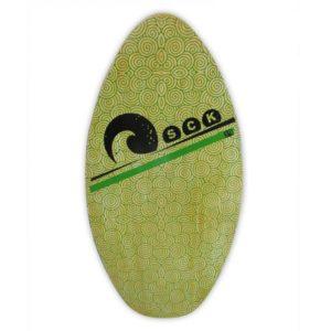 Skimboard ξύλινο πράσινο 100cm SCK