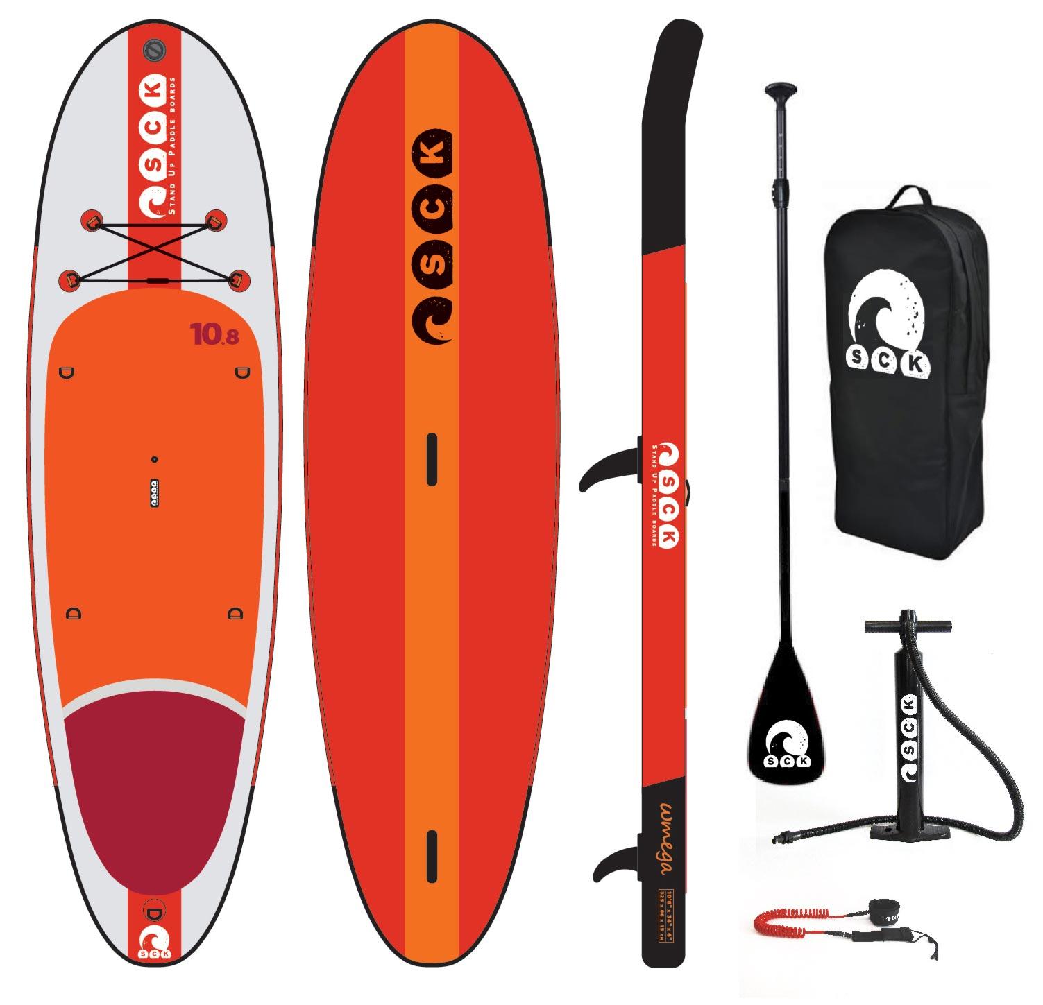 Φουσκωτό SUP/windsurf ωmega 10'8'' πακέτο