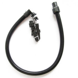 Replacement hose for electric pump