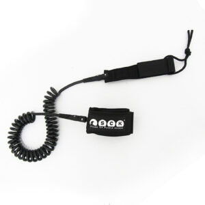 SCK Safety leash Spriral 10ft black