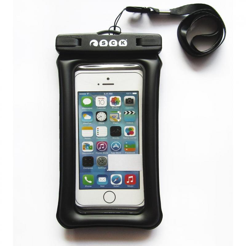 Dry phone case that floats SCK black