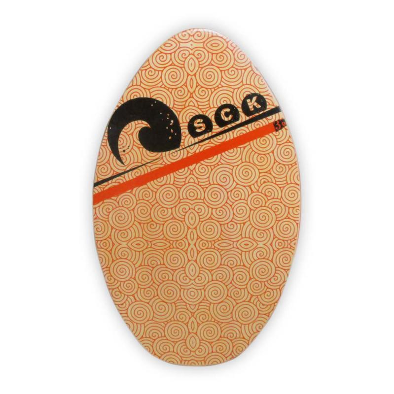 Skimboard ξύλινο πορτοκαλί 76cm SCK