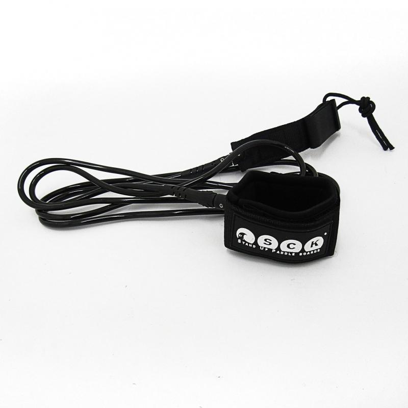 SCK Safety leash straight 9ft Black