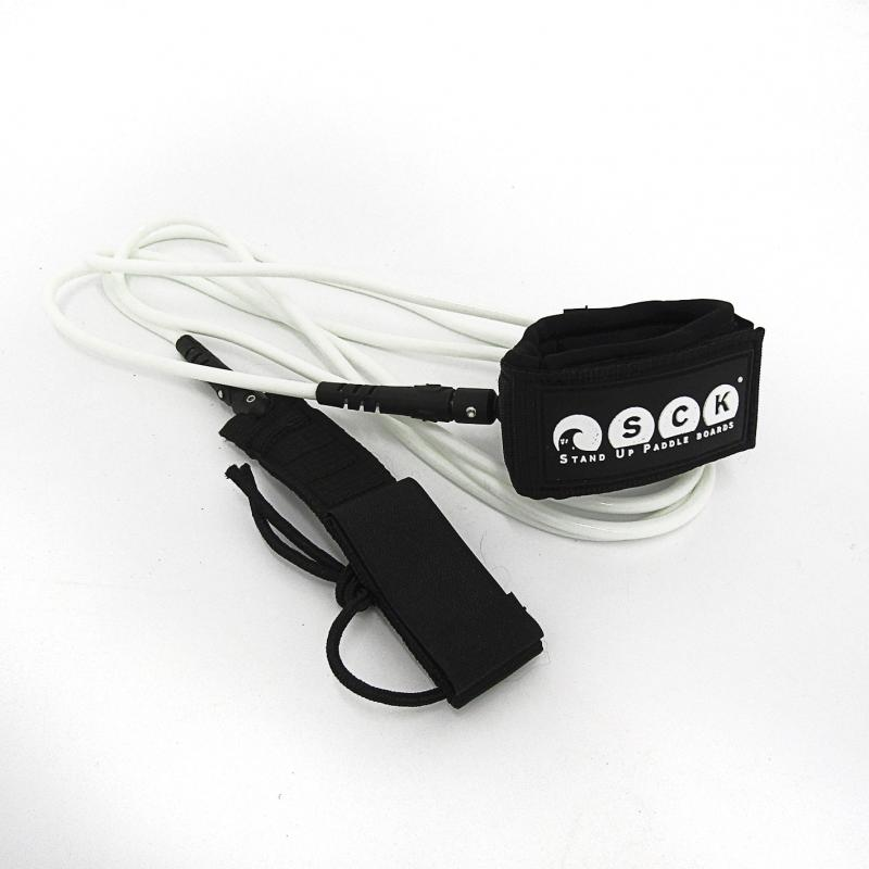 SCK Safety leash straight 9ft White