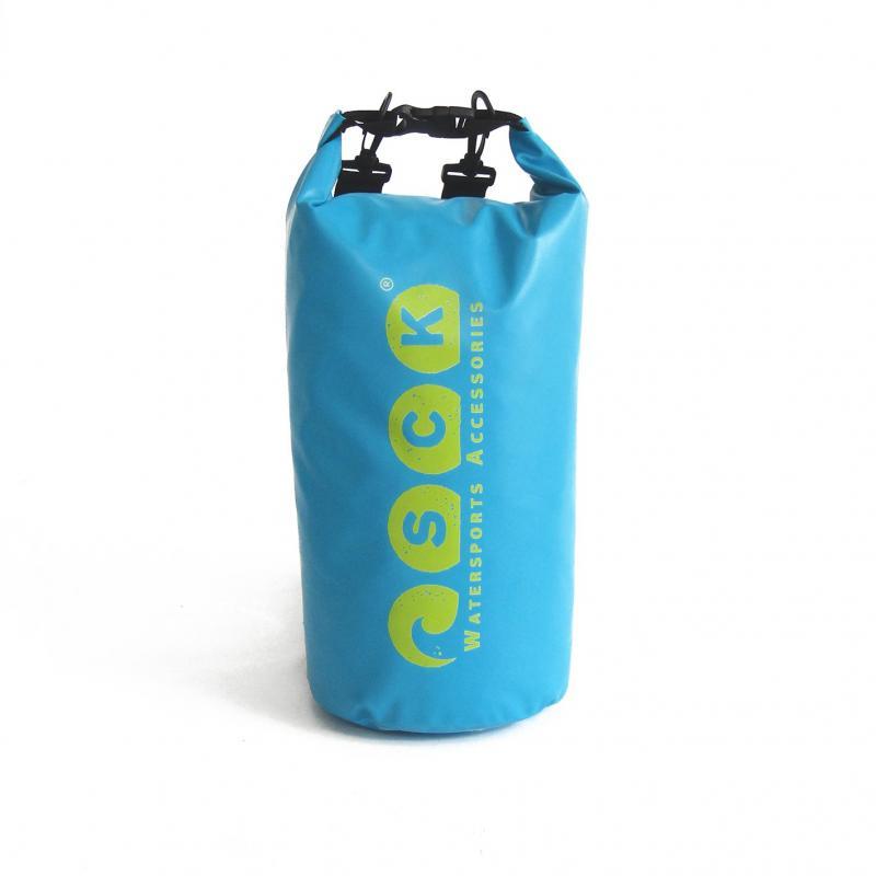 Αδιάβροχος σάκος με ιμάντες πλάτης 15L μπλε